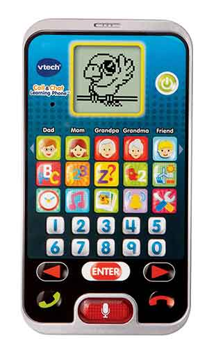 VTech Call And Chat Phone features